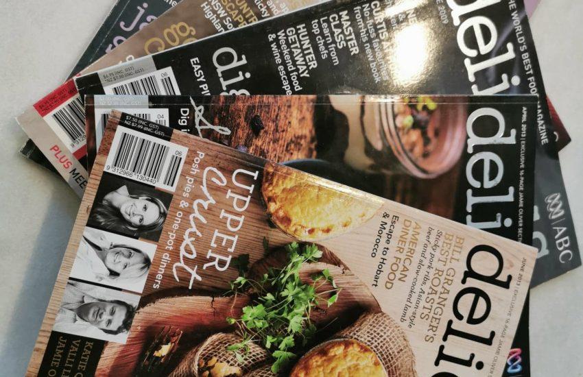 Delicious magazines