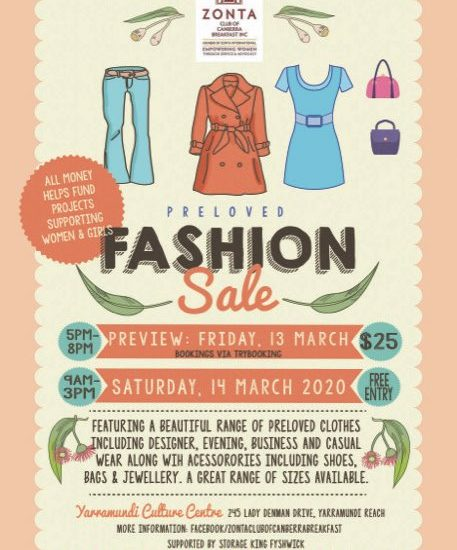 Zonta Preloved Fashion Sale