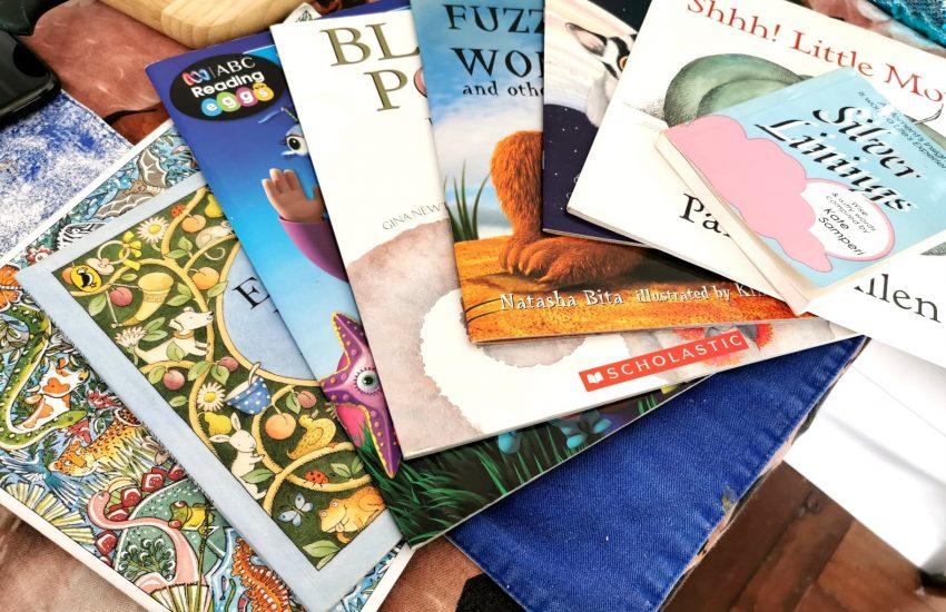 seven children's books and one book