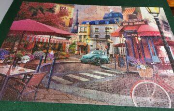 Paris jigsaw puzzle