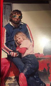 My Dad and I at a ski trip to Falls Creek