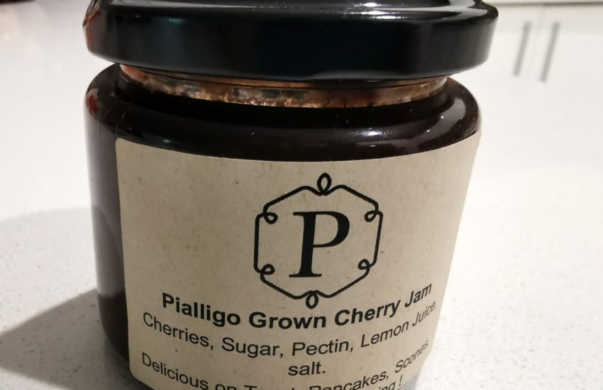 Pialligo grown cherry jam