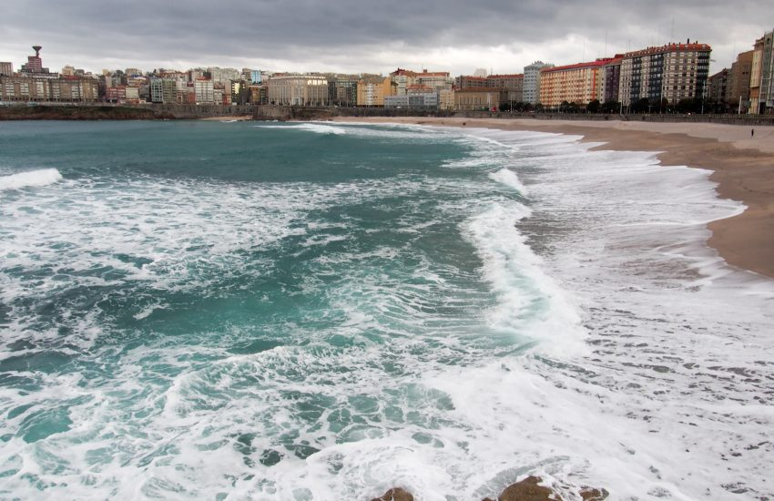 Beach at A Coruna
