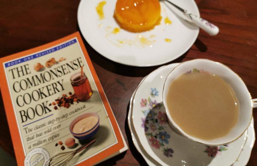 Tea, Spanish dessert and a copy of The Commonsense Cookery Book